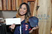 Singer-songwriter Jessica Sanchez attends the GBK Pre Grammy Lounge at Tom's Urban at L.A. Live on February 14, 2016 in Los Angeles, California.
