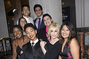 (L-R) Ayana Boyd, Jessica Chiriboga, Eric Samelo, Elle Smith, Matthew Yekell, El Martinez, Judith Light, and Soli Guzman attend the GLSEN Respect Awards Los Angeles at the Beverly Wilshire Four Seasons Hotel on October 25, 2019 in Beverly Hills, California.