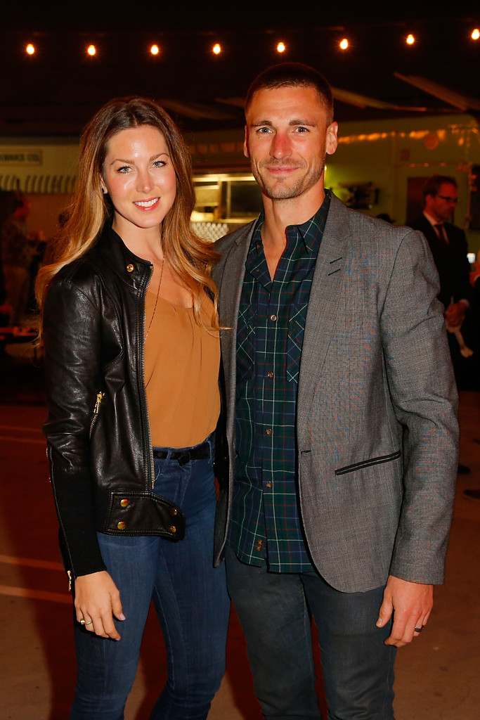 Andrew Walker with his wife Cassandra Troy