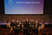 Zabryna Guevara, Sean Pertwee, Robin Lord Taylor, Jada Pinkett Smith, Donal Logue, Ben McKenzie, Danny Cannon and Kristen Baldwin attend the GOTHAM Panel At PaleyFest NY on October 18, 2014 in New York City.