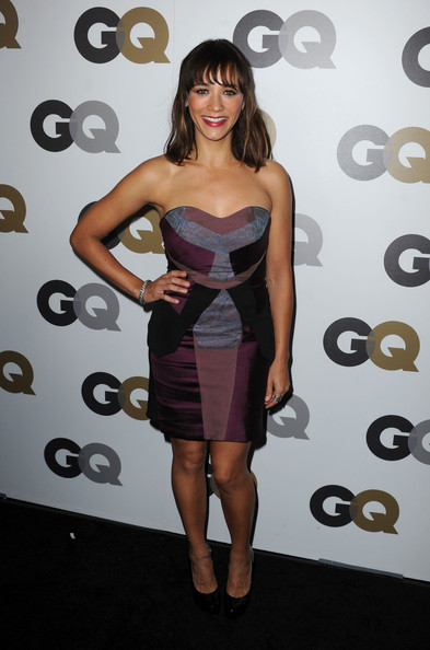 "Actress Rashida Jones arrives at the 15th annual ""GQ Men of the Year"" party held at Chateau Marmont on November 17, 2010 in Los Angeles, California."