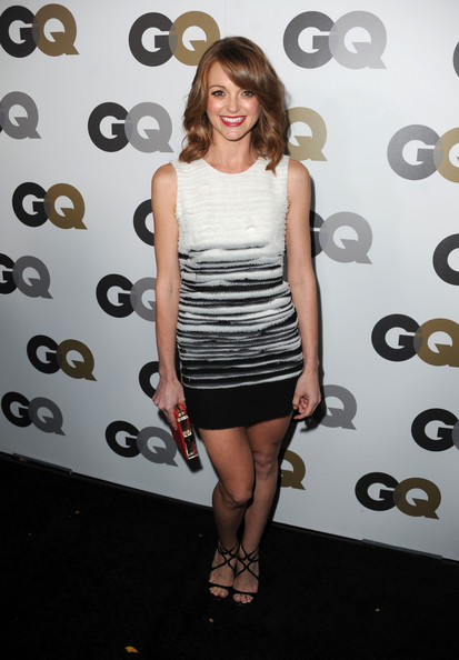 "Actress Jayma Mays arrives at the 15th annual ""GQ Men of the Year"" party held at Chateau Marmont on November 17, 2010 in Los Angeles, California."
