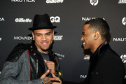 Chris Brown and Trey Songz attend GQ's The Gentlemen's Ball at The Edison Ballroom on October 27, 2010 in New York City.