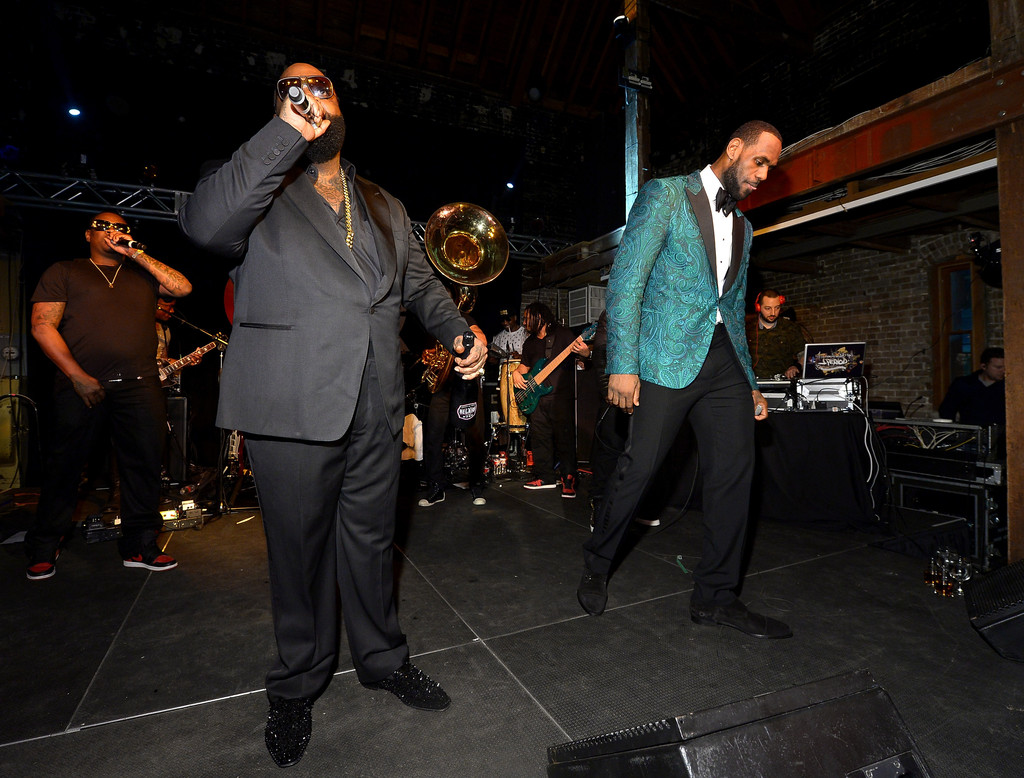 0b93def7ea7d GQ   LeBron James NBA All Star Party (Pictures) – Atlnightspots
