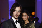 Daniele Cavalli and Shermine Sharivar attend the GQ Man of the Year Award 2011 at Komische Oper on October 28, 2011 in Berlin, Germany.