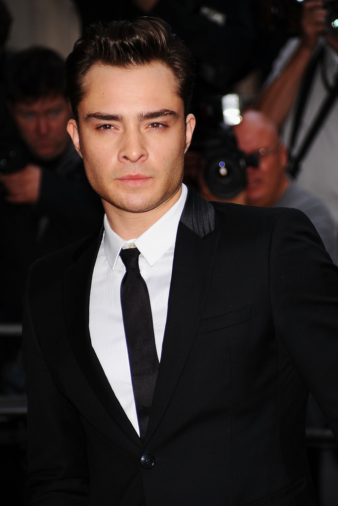 Ed Westwick in GQ Men Of The Year Awards 2010 - Outside ... Ed Westwick Single