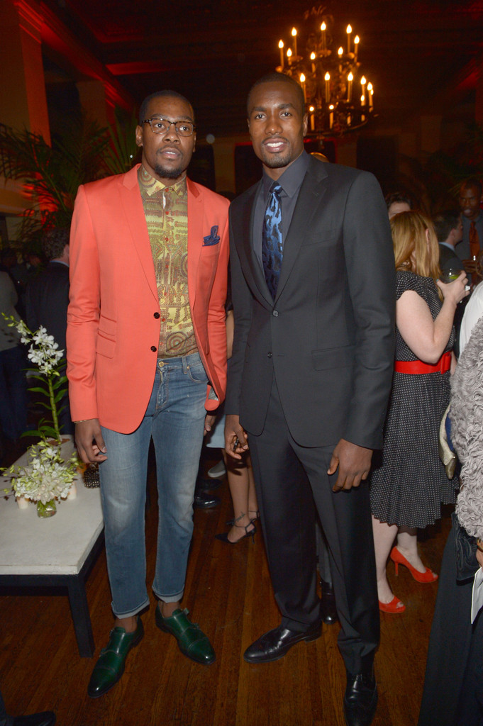 kevin durant and serge ibaka photos photos gq men of the