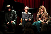 (L-R) Producer Don Was, recording engineer Al Schmitt and singer Trisha Yearwood discusses her new album of Frank Sinatra songs and performs at The GRAMMY Museum on January 08, 2019 in Los Angeles, California.