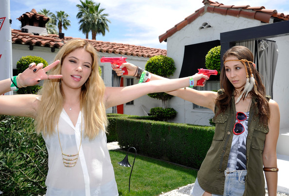 Saturday: Ashley Benson and Troian Bellisario