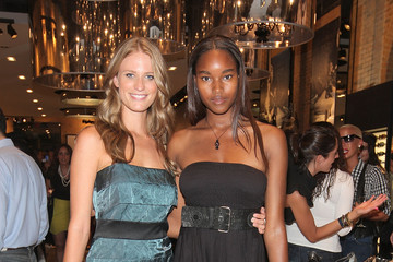 Julie Henderson Damaris Lewis GUESS and Marie Claire Host Opening of GUESS Flagship - Inside