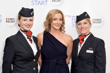 Gabby Logan British Airways' Flying Start Gala Ball