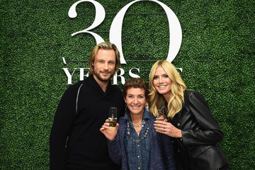Gabriel Aubry Glamour and INC International Concepts Denim Dash With Heidi Klum