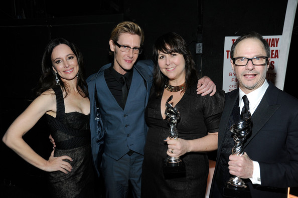 Backstage at the Costume Designers Guild Awards