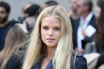 Gabriella Wilde LFW: Arrivals at Burberry Prorsum — Part 4