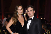Ingrid Vandebosch and Jeff Gordon attend the 2018 Angel Ball hosted by Gabrielle's Angel Foundation at Cipriani Wall Street on October 22, 2018 in New York City.