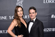 NASCAR Driver Jeff Gordon and Model Ingrid Vandebosch attend the 2018 Angel Ball hosted by Gabrielle's Angel Foundation at Cipriani Wall Street on October 22, 2018 in New York City.