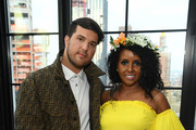 Honoree Andrew Warren and Aayan Ahmed attend Gabrielle's Angel Foundation's Young Professional Committee Hosts Midsummer Angel Gala at The Fleur Room on June 24, 2019 in New York City.