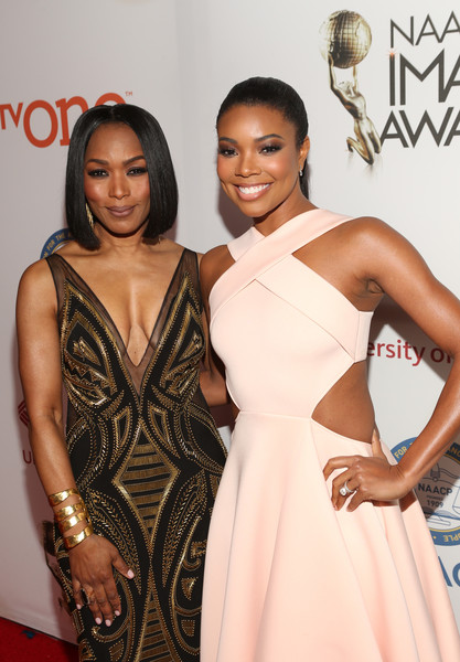 9f8fa47ee94 Gabrielle Union and Angela Bassett Photos»Photostream · Pictures · 46th  NAACP Image Awards — Part 2