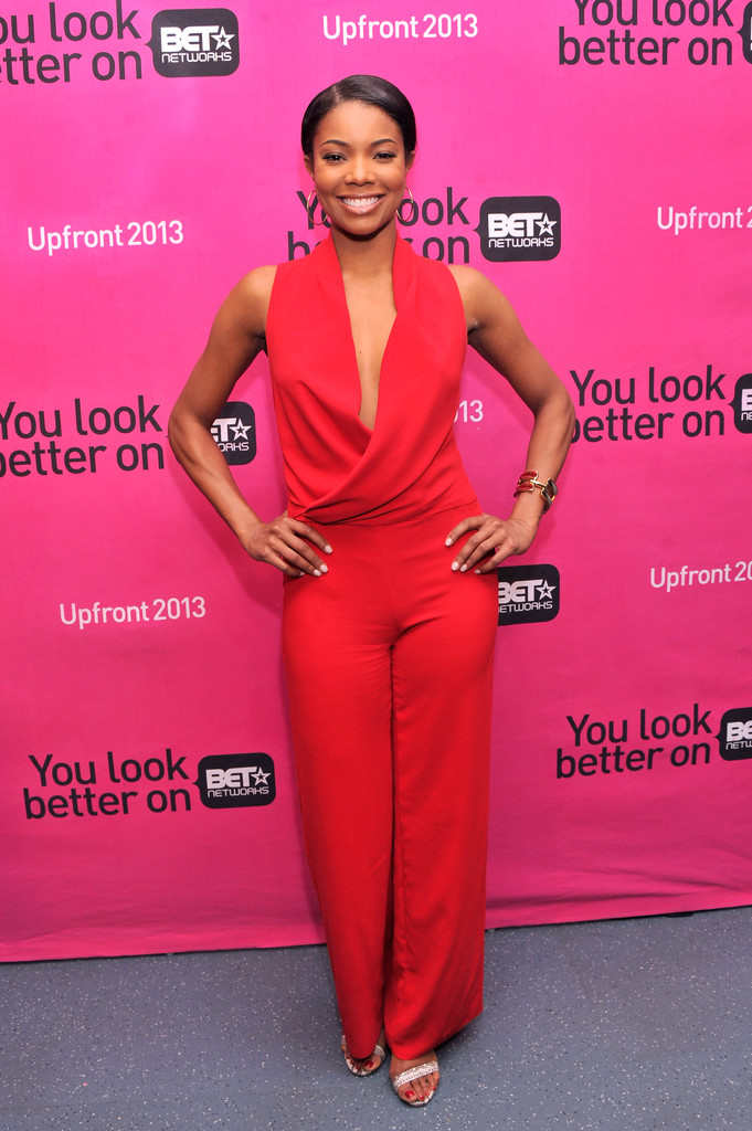Gabrielle Union - Celebs at BET Networks New York Upfront