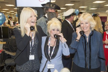 Gaby Roslin Camilla Parker Bowles at ICAP Charity Day