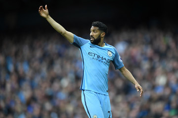 Gael Clichy Manchester City v Leicester City - Premier League