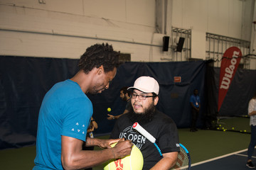 Gael Monfils Wilson and US Open Players Join Unsuspecting Fans for a Few Games on Court