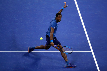 Gael Monfils 2018 US Open - Day 4