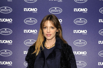 Gaia Trussardi Bugatti and L'Uomo Vogue Collection Party - Arrivals - Milan Fashion Week Menswear Autumn/Winter 2014