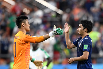 Gaku Shibasaki Japan vs. Senegal: Group H - 2018 FIFA World Cup Russia