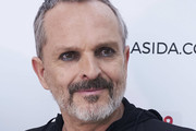 Spanish singer Miguel Bose attends the 'Gala Sida' 2017 presentation at the Casa de Correos on July 3, 2017 in Madrid, Spain.