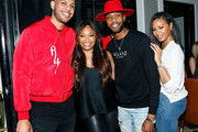 """(L-R) Sarunas J. Jackson, Connie Orlando, Kendall Kyndall and Vanessa Simmons attend """"Games People Play"""" Live Tweet Event at The London West Hollywood on April 23, 2019 in West Hollywood, California."""