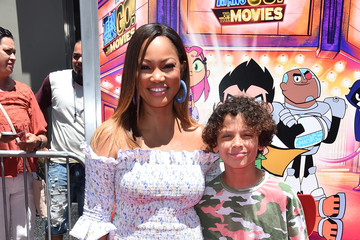 Garcelle Beauvais Los Angeles Premiere Of Warner Bros. Animations' 'Teen Titans Go! To The Movies' - Arrivals