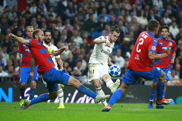 Gareth Bale Real Madrid vs. Viktoria Plzen - UEFA Champions League Group G