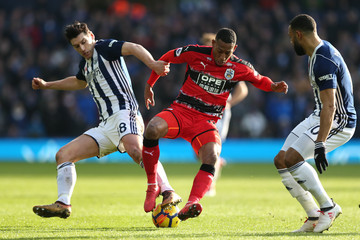 Gareth Barry West Bromwich Albion vs. Huddersfield Town - Premier League