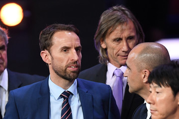 Gareth Southgate Final Draw for the 2018 FIFA World Cup Russia