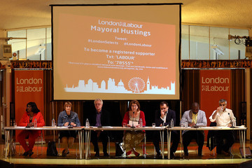 Gareth Thomas Labour's Mayoral Candidates Meet the Public at London Hustings