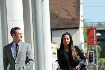 Gareth Varey Tulisa Contostavlos Appears at Court