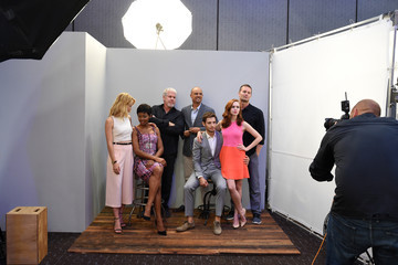 Garret Dillahunt Alona Tal Behind The Scenes of the Getty Images Portrait Studio Powered By Samsung Galaxy At Comic-Con International 2015