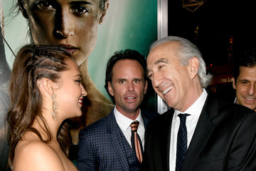 Gary Barber Premiere Of Warner Bros. Pictures' 'Tomb Raider' - Red Carpet