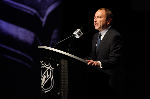 Gary Bettman - 2012 NHL Entry Draft - Round One