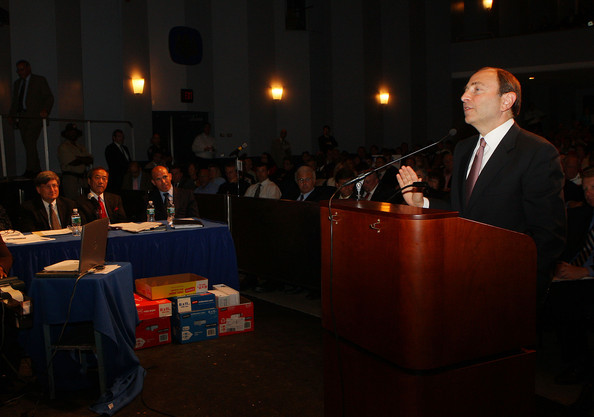 Gary Bettman - New York Islanders Town Hall Meeting Rally