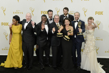 Gary Cole Kevin Dunn 67th Annual Primetime Emmy Awards - Press Room