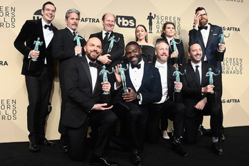 Gary Cole Timothy Simons 24th Annual Screen Actors Guild Awards - Press Room