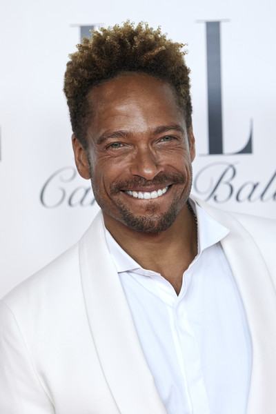 ELLE Charity Gala 2019 In Madrid [hair,hairstyle,chin,forehead,facial hair,smile,white-collar worker,beard,premiere,moustache,gary dourdan,funds,cancer,madrid,spain,intercontinental hotel,elle charity gala]