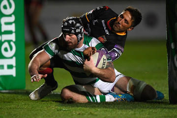 Gary Graham Dragons v Newcastle Falcons - European Rugby Challenge Cup