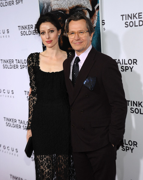 Gary Oldman with beautiful, Wife Alexandra Edenborough