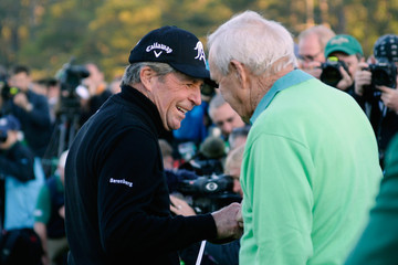 Gary Player Arnold Palmer The Masters: Round 1