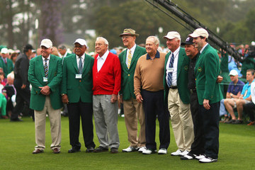 Gary Player Arnold Palmer The Masters: Round One