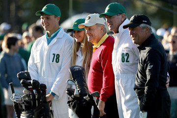Gary Player Fred Ridley The Masters - Round One