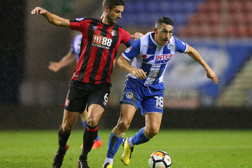Gary Roberts Wigan Athletic v AFC Bournemouth - The Emirates FA Cup Third Round Replay